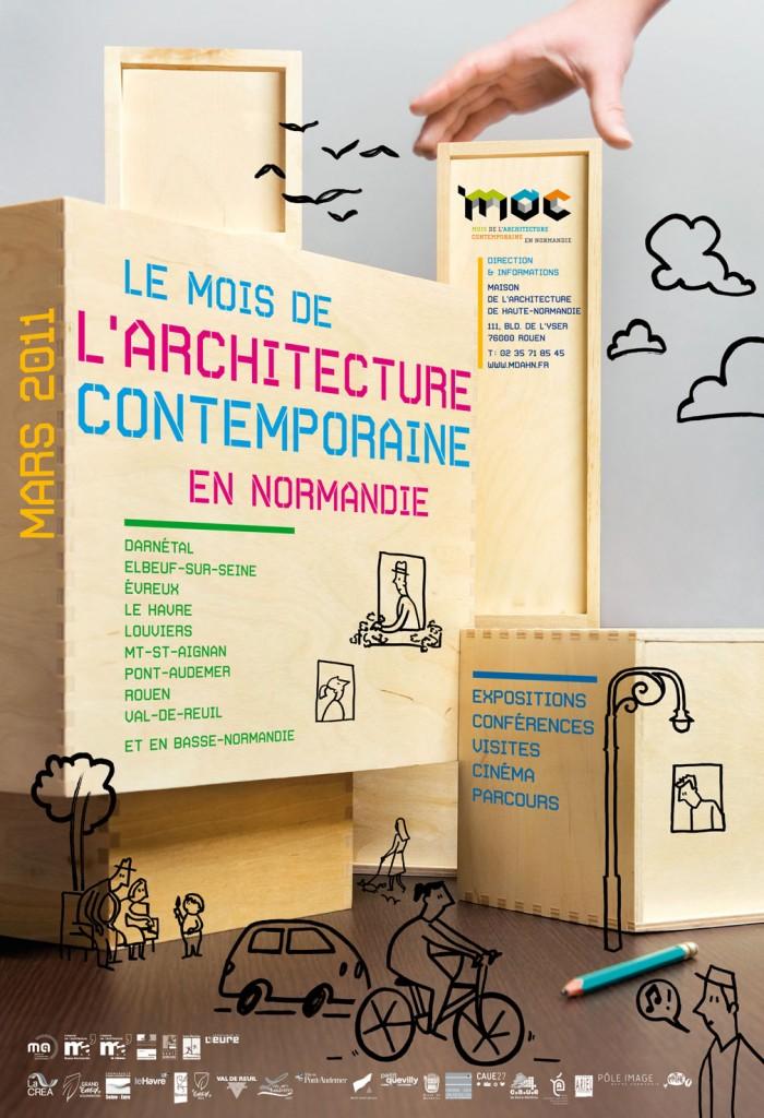 mars mois de l 39 architecture contemporaine en normandie je vis au. Black Bedroom Furniture Sets. Home Design Ideas