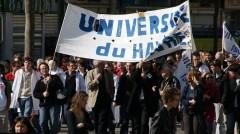 université du havre en grève.JPG