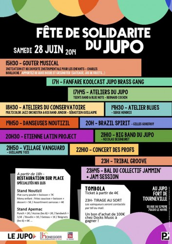 jupo,jazz,le havre,solidarité,association