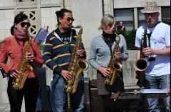 Le Jazz s'est installé le temps d'un concert improvisé au Havre samedi