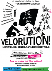 Vélorution de Printemps le 06 Avril 2013